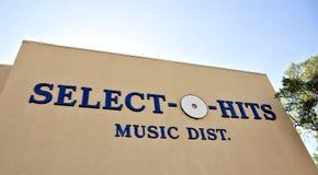 Select O Hits Music Distribution royalty free stock photo