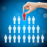 Select person career to work job Stock Photos