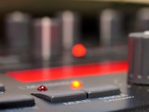 Select status... Studio equipment royalty free stock image
