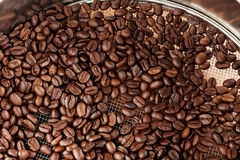 Selected Coffee Beans Stock Photo
