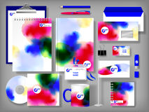 Selected Corporate Templates Royalty Free Stock Photo