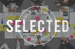 Selected Decision Result Selection Yes Status Concept Stock Image