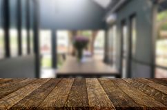 Free Selected Focus Empty Brown Wooden Table And Coffee Shop Or Resta Royalty Free Stock Photos - 128344678