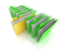 Selected Folder Stock Image
