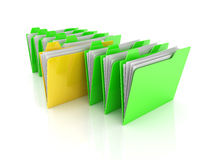 Selected Folder Stock Photo