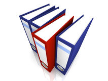 Selected Folder Royalty Free Stock Photography