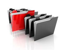 Selected Folder Royalty Free Stock Photo