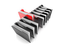 Selected Folder Stock Photography