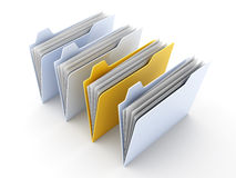 Selected Folder Stock Images