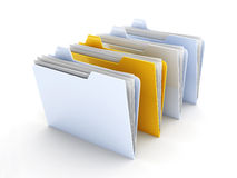 Selected Folder Royalty Free Stock Image