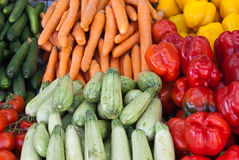 Selected vegetables Royalty Free Stock Images
