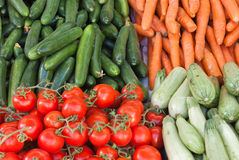 Selected vegetables Stock Photos