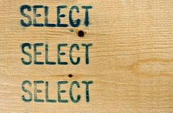 Selecteer 2X4 nagel stock foto's