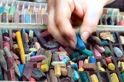 Selecteer pastelkleuren Royalty-vrije Stock Fotografie