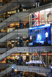 Selecteer Stadsgang is een favoriete wandelgalerij onder de nieuwe middenstand van New Delhi, India Stock Foto's