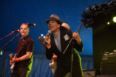 The Selecter live at the Westport Festival Royalty Free Stock Photos