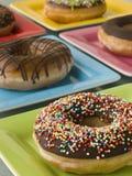 Selectie van de Doughnuts van de Ring Royalty-vrije Stock Afbeeldingen