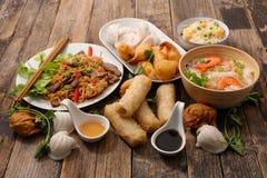Selectie van het voedsel van Azië royalty-vrije stock fotografie