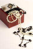 Selectie van juwelen royalty-vrije stock afbeelding
