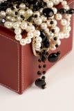 Selectie van juwelen Royalty-vrije Stock Foto's