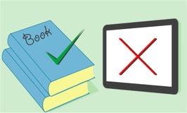 Selectie van tablet of boeken Stock Afbeelding