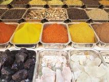 Selectie van verschillende kruiden Stock Foto