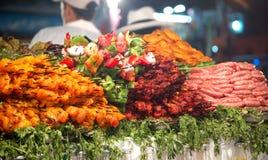Selectie van vlees Stock Afbeelding