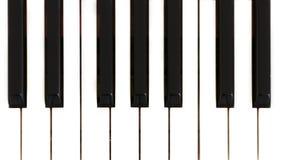 Selectieve de Pianosleutels van het nadrukpunt Royalty-vrije Stock Fotografie
