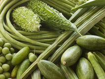 Selection of Asian Vegetables Royalty Free Stock Photography