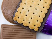 A selection of biscuits Stock Photography