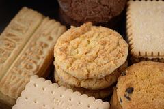 A selection of biscuits Stock Images