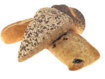 Selection of Bread Rolls Royalty Free Stock Images