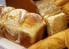 Selection Of Breads Stock Photo