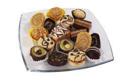 Selection of cakes Stock Photo