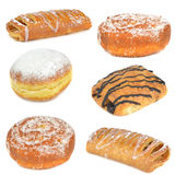 A selection of cakes and pastries Stock Photo