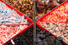 Selection of Candy. Selection of assorted candies for picking and mixing Royalty Free Stock Photo