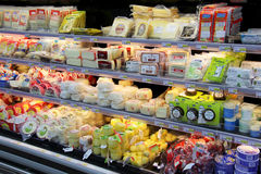 Selection of cheese Royalty Free Stock Image