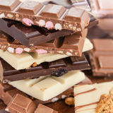 Selection of chocolates Royalty Free Stock Images