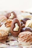 Selection of chocolates Royalty Free Stock Photos