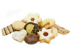 Selection of christmas cookies Stock Photography
