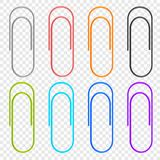 A selection of colored icons clip , located on a transparent background. Vector elements for your design. Eps 10 vector illustration