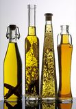 SELECTION OF COOKING OILS stock photo