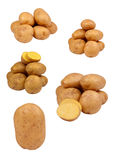 Selection of different potato combinations Royalty Free Stock Photos