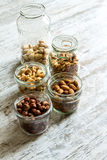 Selection of dried fruits Royalty Free Stock Photo