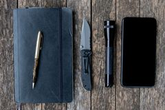 Every Day Carry Pocket Dump Royalty Free Stock Image