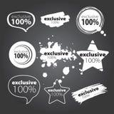 Logo brush Stock Photo