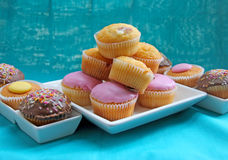 Selection of fairy cakes Stock Photography