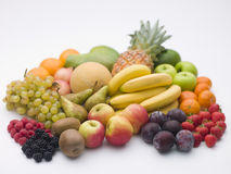 Selection Of Fresh Fruit Stock Photo