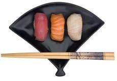 Selection of Fresh Nigiri Stock Photography