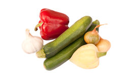 Selection of fresh vegetables Royalty Free Stock Image